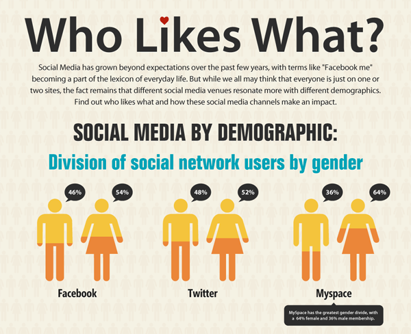 demografia social network